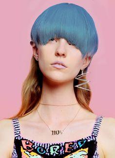 Check out Aussie designer Emma Mulholland's Risque Business collection - Um, weird.