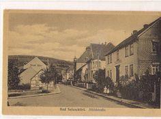 Mühlenstraße, heute Riedstr. um 1915