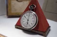 Alpina museum military pocket chronograph from 1916 at Tourneau Time Machine, New York | Flickr - Photo Sharing!