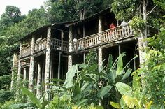 Sarawak, Orang Ulu Longhouse in the Sarawak Cultural Village