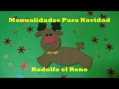 Manualidades Para Navidad Paso a Paso, Manualidades Para Navidad Rodolfo El Reno - YouTube