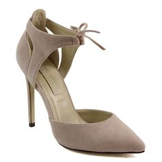 dfdc95f489c Guilty Soles Rochelle Pointed Toe 4.5  Heel Height D Orsay Pump Vegan Suede  Best