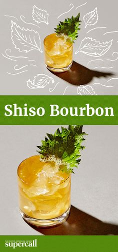 Sweet, honeyed bourbon can be incredible in a cocktail, as shown in this deceptively simple, ultra-refreshing drink. In it, the cocktail balances rich bourbon with bright, fresh lime juice and almost minty shiso-infused simple syrup.