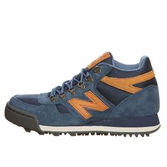 New Balance Hiking Shoes H710CTB Navy + Camel Hiking Boots