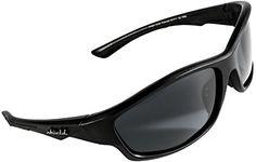 02e3ccecbb82 Shield Cloaks Polarized Sports Sunglasses for Running Fishing Cycling  Baseball Tennis Superlight Unbreakable TR90 Frame Black Smoke Black      More info ...