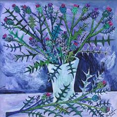 Brian Whelan thistle. I really like this artist