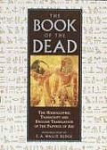 Book Of The Dead: Including the Hieroglyphic Transcript and English Translation of the Papyrus of AniFascinating compendium of ancient Egyptian mythology, religious beliefs and magical practices. Includes spells, incantations, hymns, magical formulas and prayers. All explained by one of the most knowledgeable and respected Egyptologists of the early 20th century. B&W illustrations, photographs and hieroglyphics throughout. 704 pages.