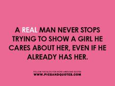 real man.