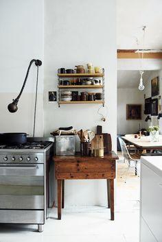 Norwegian kitchen from the book 'The Scandinavian Home by Niki Brantmark / photography James Gardiner / copyright CICO Books.