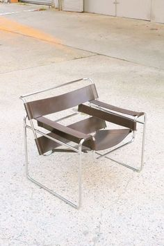 "// Marcel Breuer ""Wassily Chair"" 1927"