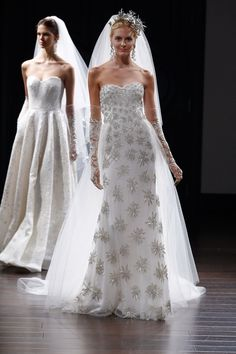 Naeem Khan Collection New York Bridal Market 2016