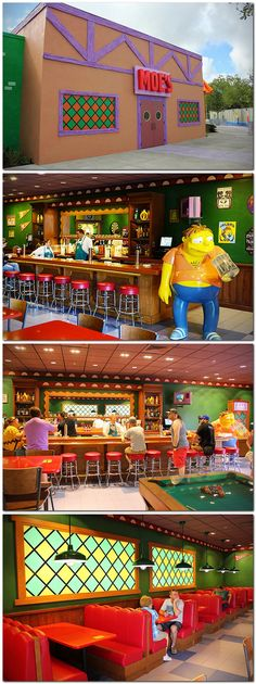 #THESIMPSONS : Moe's Tavern At Universal Studios Florida.