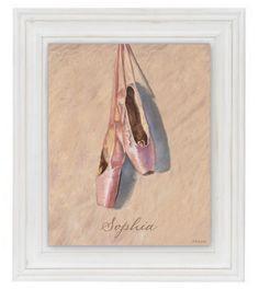 Items similar to Ballerina Slippers Giclee Art Print Ballet Shoes Ballerina Decor Ballerina Art Print on Etsy Ballerina Bedroom, Ballerina Art, Ballerina Slippers, Little Ballerina, Ballet Shoes, Dance Gifts, Little Girl Rooms, Fabric Art, Cute Pictures