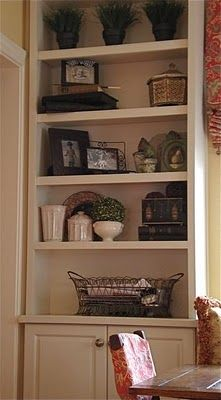 Beautiful Habitat: Ask the Designer - Decorating Bookcases and Shelves