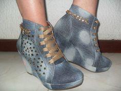 c6f981aaaf729 ¡El estilo lo creas Tú! Encuentra Zapatos Tenis Jeans Plataforma Interna  Con Piedreria Bogota - Ropa y Accesorios en Mercado Libre Colombia.