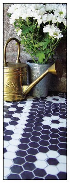 Hex Mosaics | Porcelain Floor Tile | Wall Tile