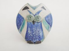 Little Owl Vase Handmade Stoneware Pottery Vessel in by hbceramics, £15.50