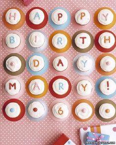 Polka-Dot Cupcakes Recipe