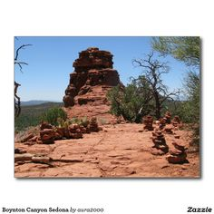 Boynton Canyon Sedona Postcard