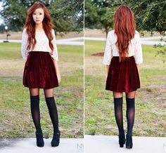 RED VELVET (by Myu C) http://lookbook.nu/look/4332291-RED-VELVET