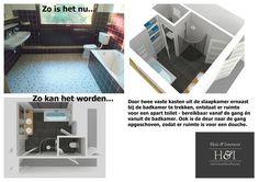 Digitale verkoopstyling   Huis & Interieur. Ook voor de grote badkamer op de 1e verdieping is een 3D-tekening gemaakt.