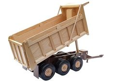 "Did you build the Dump Truck (stock# JY121P) last year? Here's a great new companion pattern - Heavy Pup Trailer (20""). Now available at stockade.ca"