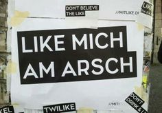 like Berlin Today, Like Me, My Love, Typography Quotes, I Laughed, Believe, Entertaining, Fun, Design