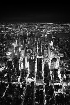 """""""NYC New York Times Square""""   Aerial of Times Square at night by Cameron Davidson"""
