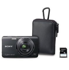 Sony Cyber-Shot Father's Day Bundle DSCW650/BFD by Sony. $149.95. From the Manufacturer                         Sony Cyber-Shot DSC-W650 16.1 MP Digital Still Camera           720p HD movie mode   Sweep Panorama mode (up to 360°)   16.1 megapixel plus a 3.0-inch LCD screen for easy viewing Optical SteadyShot image stablization reduces blur Picture Effect for more expressive photos    iAuto mode automatically optimizes camera settings Face Detection and Smile Shutter techno...