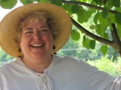 Jeanine Davis does research on medicinal herbs.
