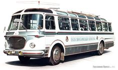 Sightseeing Bus, Busses, Locomotive, Motorhome, Cars And Motorcycles, Techno, Vintage Cars, Transportation, Trucks