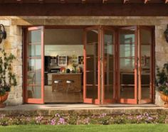 Transform your space with glass doors that open dramatically to the breezes and the views