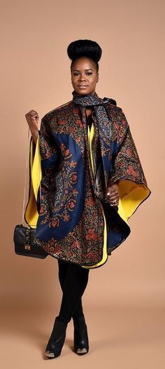Rahyma Royal Java Poncho. *Luxury has arrived with this comfortable Unisex African print Poncho, fully lined with cashmere to keep you warm. Wear it over a coat or a sweater. Ankara   Dutch wax   Kente   Kitenge   Dashiki   African print dress   African fashion   African women dresses   African prints   Nigerian style   Ghanaian fashion   Senegal fashion   Kenya fashion   Nigerian fashion   Ankara summer dress (affiliate)