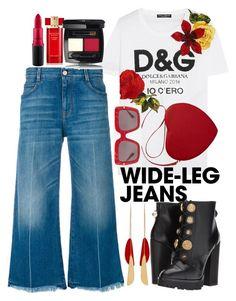 """Untitled #46"" by kaostyles ❤ liked on Polyvore featuring Dolce&Gabbana, STELLA McCARTNEY, Estée Lauder, MAC Cosmetics and Isabel Marant"