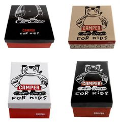 Camper, por Javier Mariscal. Cuter than words #packaging PD