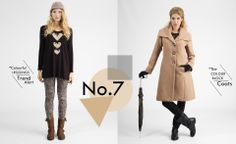 AW13-14 Color Trends, Color Blocking, Plus Size Fashion, Duster Coat, Leggings, Womens Fashion, Jackets, Collection, Down Jackets