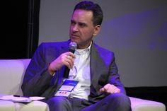 "Włodzimierz Schmidt (IAB) the host of ""Future of online TV"" discussion panel"