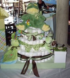 My very first diaper cake!