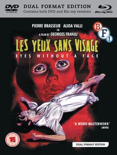 Eyes Without a Face Dual Format Edition DVD+ Blu-ray 1960: Amazon.co.uk: Pierre Brasseur, Alida Valli, Edith Scob, Geroges Franju: DVD & Blu-ray