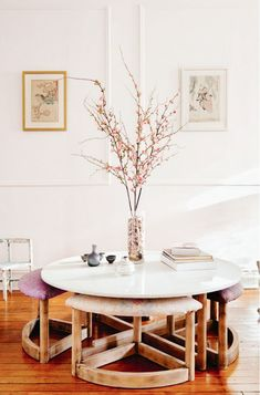 Brooklyn Home With Vintage Furniture and Soft Colors #home #decor #YourNewRoommate