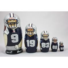 "Dallas Cowboys Matryoshka (6"")"