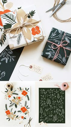 gift wrap photography rifle paper co