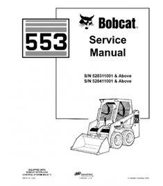BOBCAT S205 SKID STEER LOADER SERIES SERVICE REPAIR MANUAL