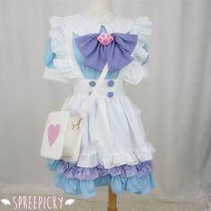 #spreepicky #maiddress #princessdress #lolitadress #cutedress #custom #freeship