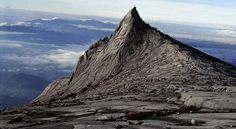 Mount Kinabalu, highest point in south east Asia