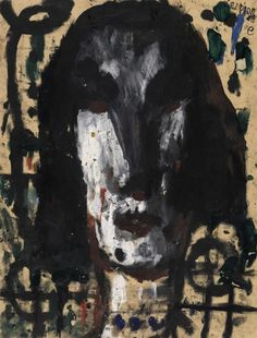 Louis Soutter, L'Espionne, 1937 - 1942, Auktion 910 Moderne Kunst, Lot 361