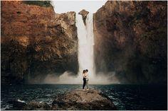Snoqualmie Waterfall, Washington