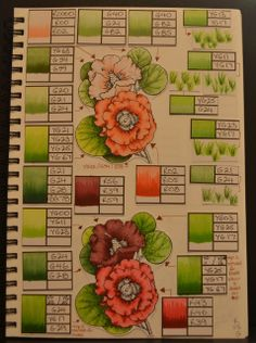 Alshandra's Corner: Copic Colour / Technique Journal