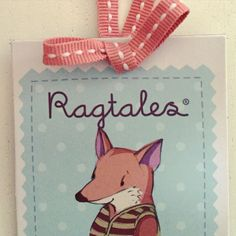 all ragtales products have illustrated character labels