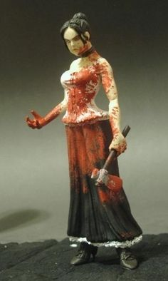 Lizzie Borden action figure-I would love to have this on my desk at work or home...